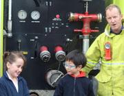Firefighter's Visit